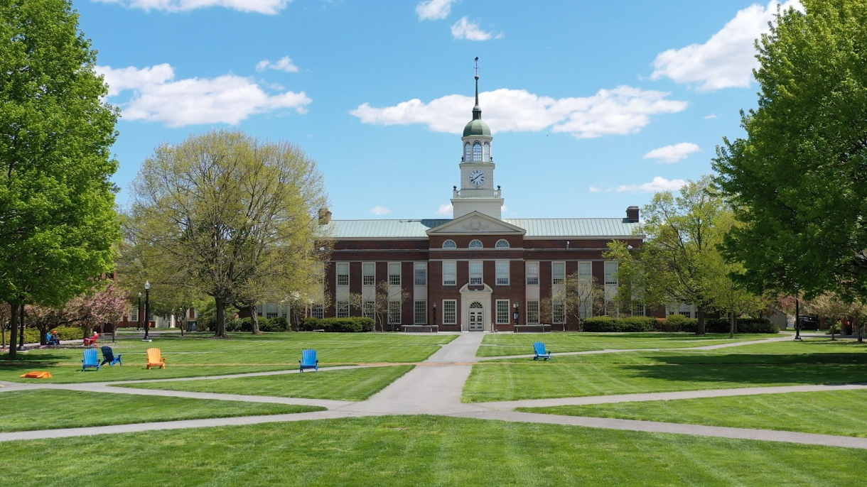 Beauty shot of Bucknell campus