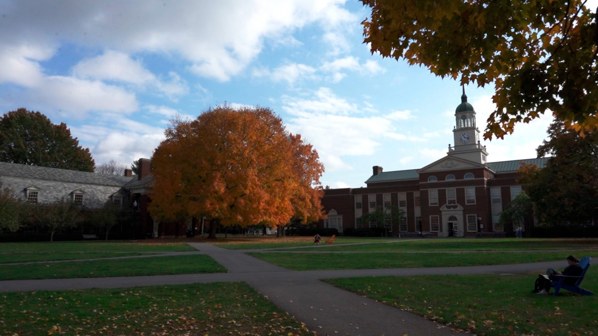 Fall scenes on Bucknell's campus