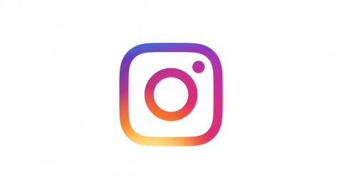 The multicolored Instagram logo