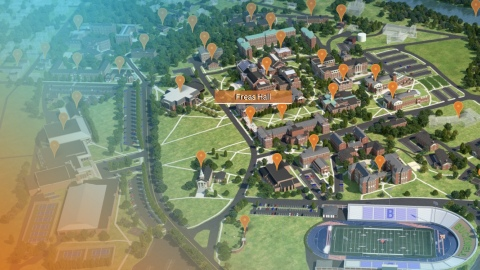 Virtual Campus Tour Map