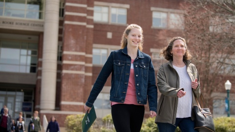 Bucknell Student at Admitted Students Open House