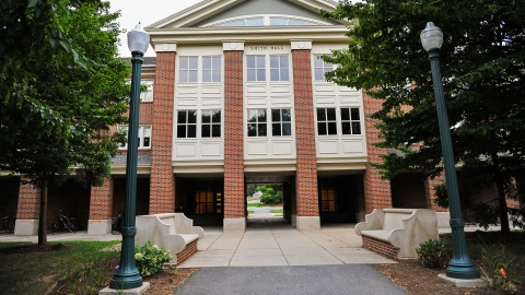 Exterior of Smith Hall