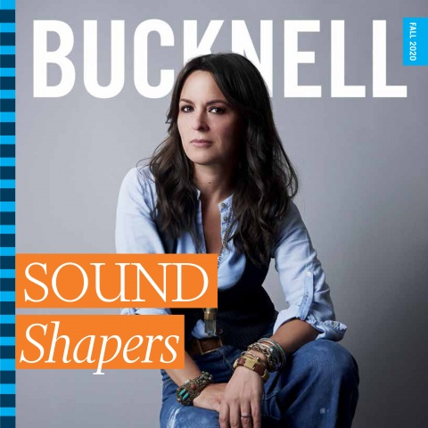 Bucknell Magazine Cover Fall 2020