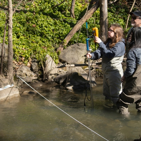 Stream Ecology and Restoration: The Science Behind Fly Fishing class