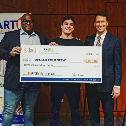 BizPitch 2018 winner