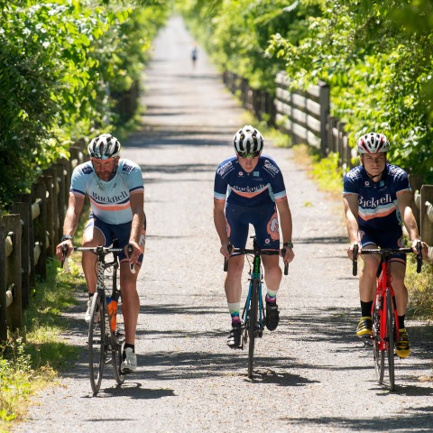 Cycling Club on the Rail Trail