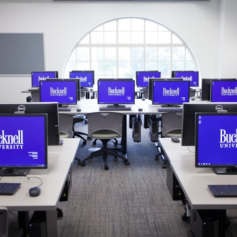Computer room in academic west