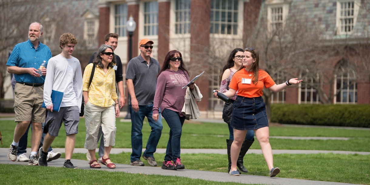 Tour during Gateway to Bucknell