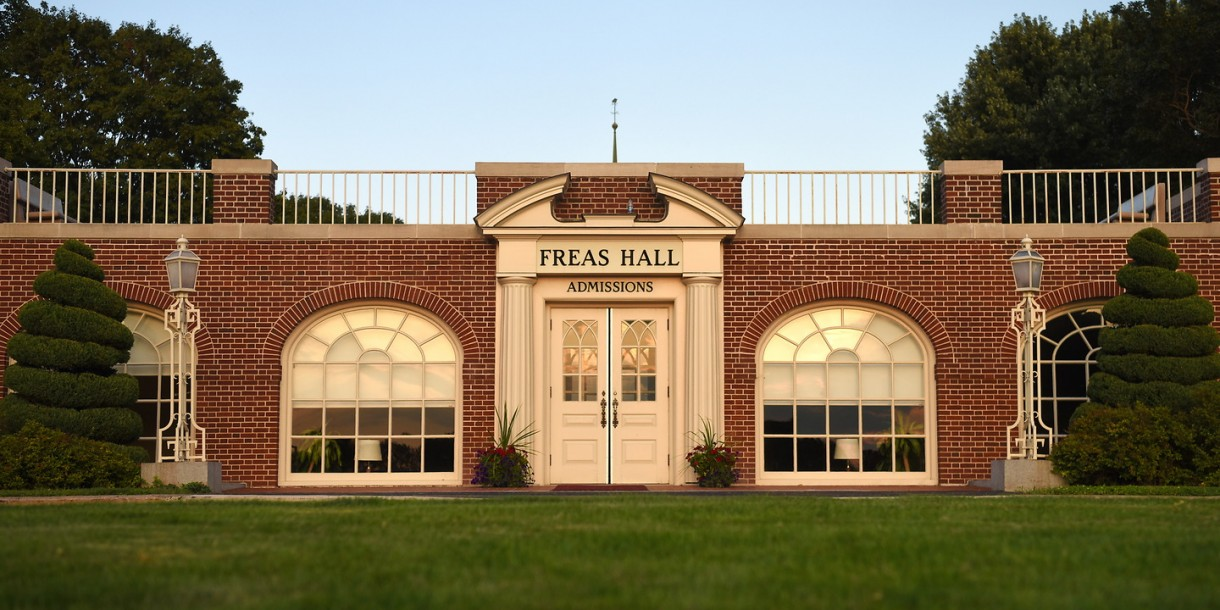 Exterior of Freas Hall