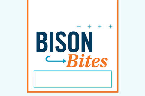 Printable Bison Bites Sign