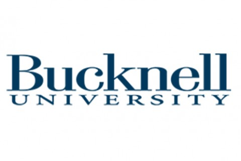 A stretched Bucknell Wordmark