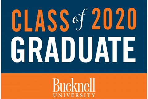 Class of 2020 Graduate yard sign
