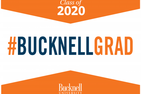 Class of 2020 #Bucknell Grad yard sign