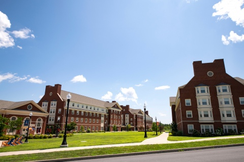 Exterior of South Campus Apartments