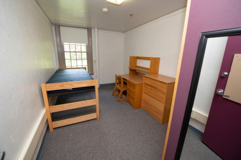 Harris Hall single bedroom