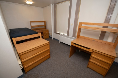 residence hall bedroom