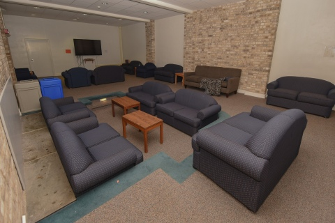Common area inside Vedder Hall