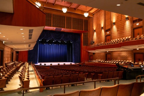 Interior of the Weis Center for the Performing Arts