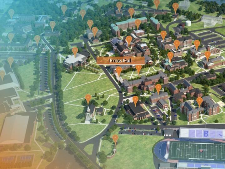 Virtual Campus Tour Map
