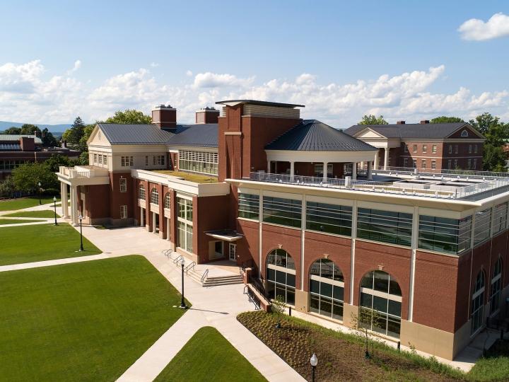 Academic East aerial
