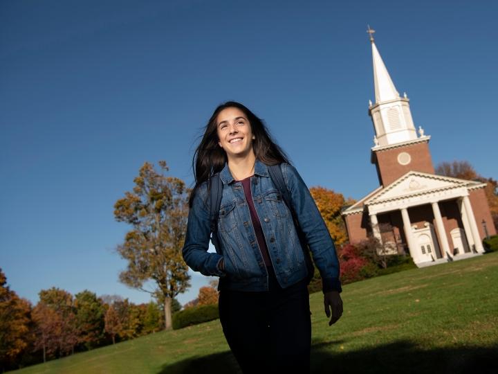 Ashlyn Ramos '22, a computer science major at Bucknell University
