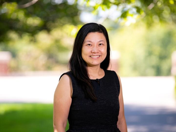 Portrait of professor Jiajia Dong