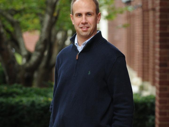 Portrait of Christopher Ellis