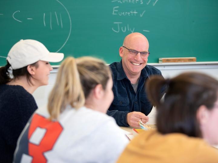 Robert Rosenberg teaching a class