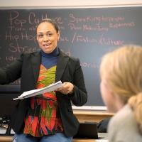 Cymone Fourshey teaching