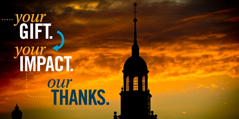Your gift. Your impact. Our thanks.