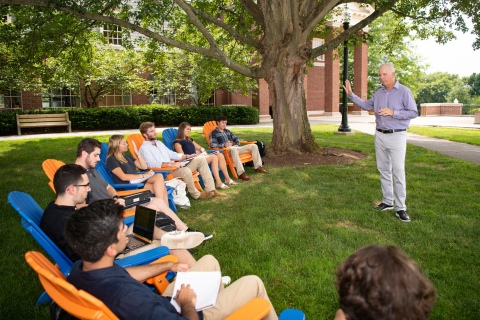 Summer Management Institute on Malesardi Quad